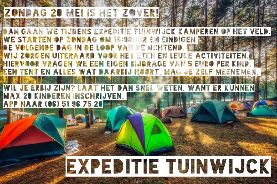 Flyer expeditie tuinwijck