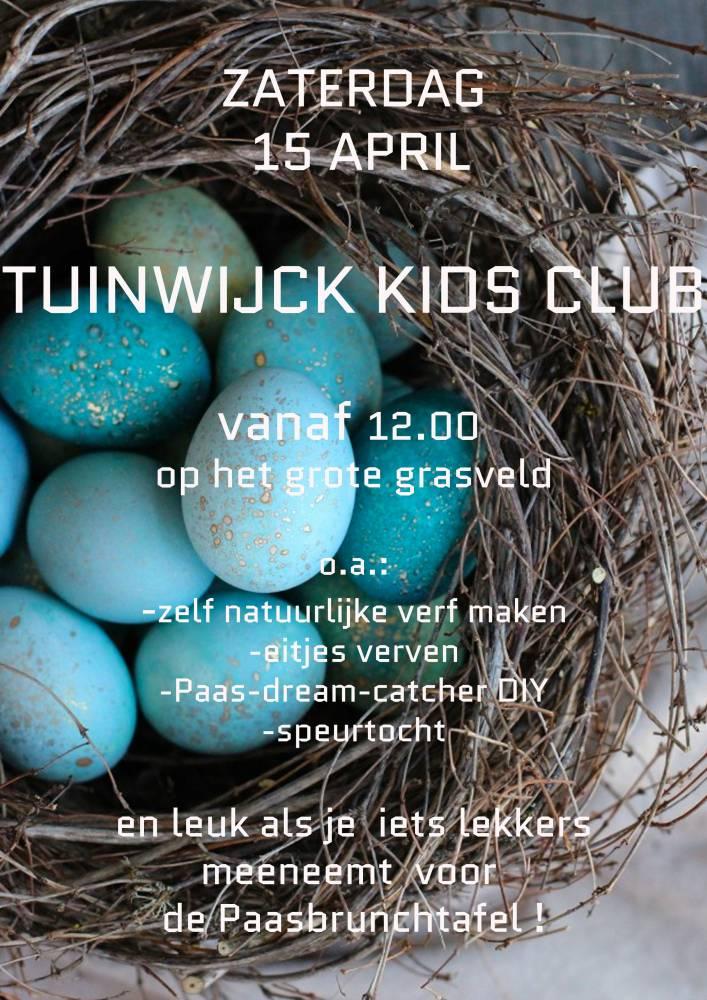 Flyer Tuinwijck Kids Pasen